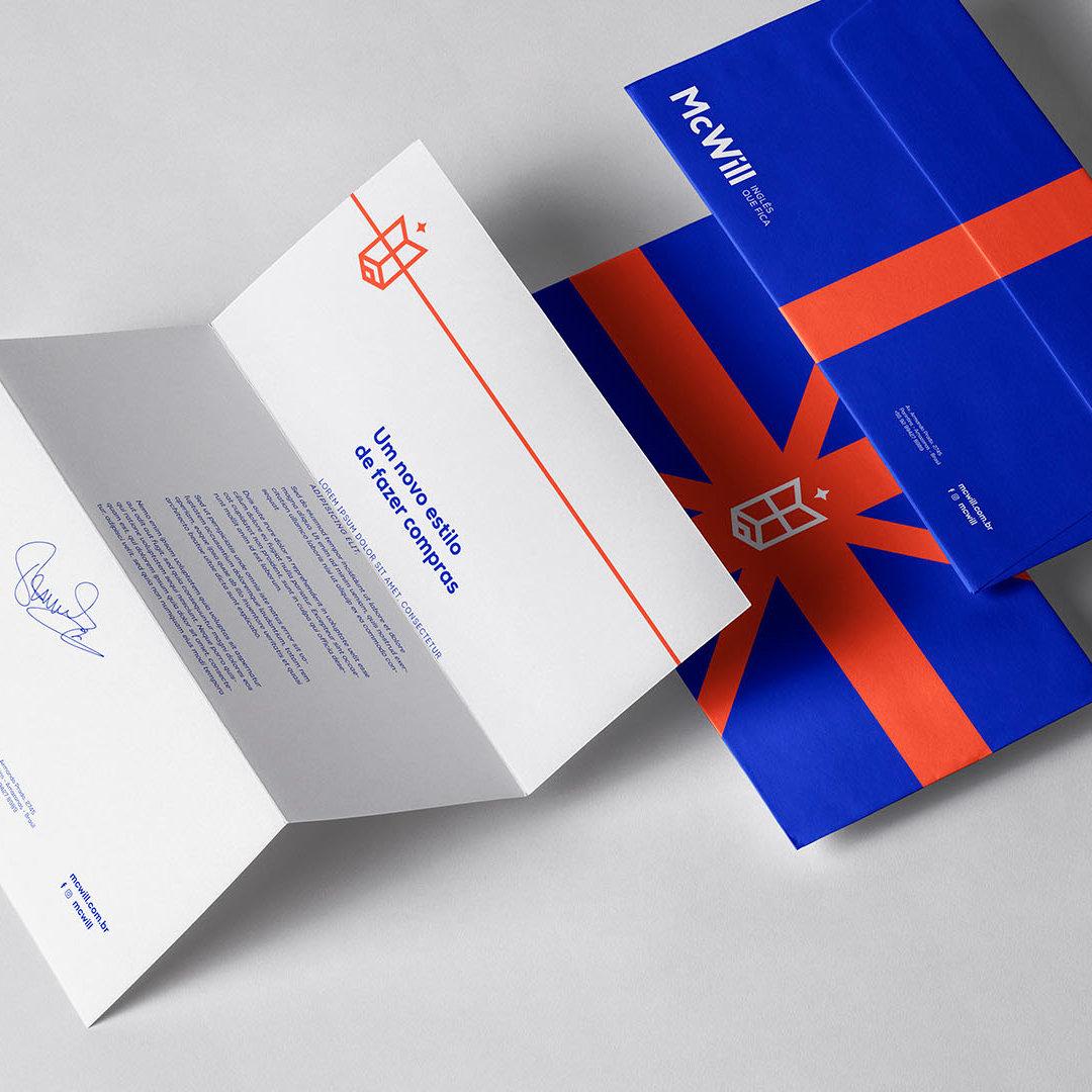 企业VI设计之信封_高瑞品牌_北京vi设计