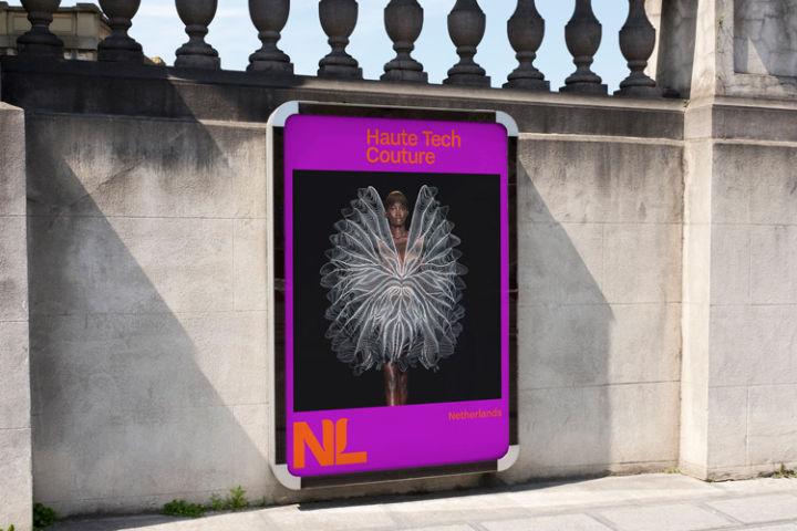 荷兰全新国家旅游品牌LOGO应用文化宣传海报_高瑞品牌_北京logo设计