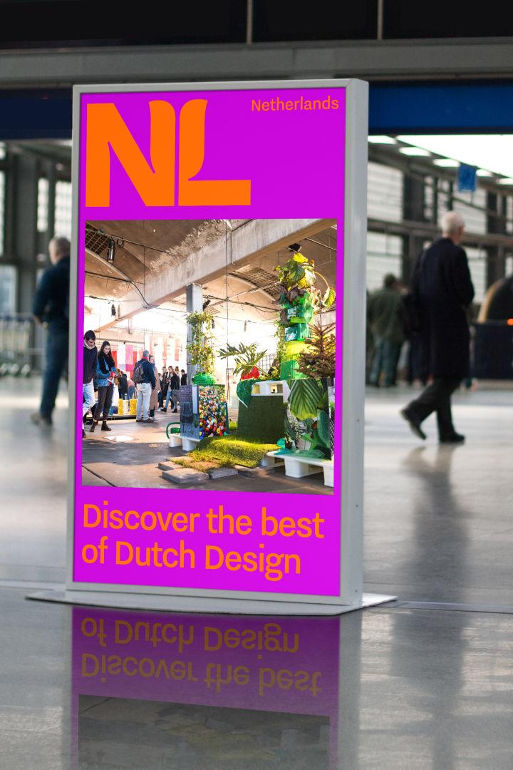 荷兰全新国家旅游品牌LOGO应用宣传海报_高瑞品牌_北京logo设计