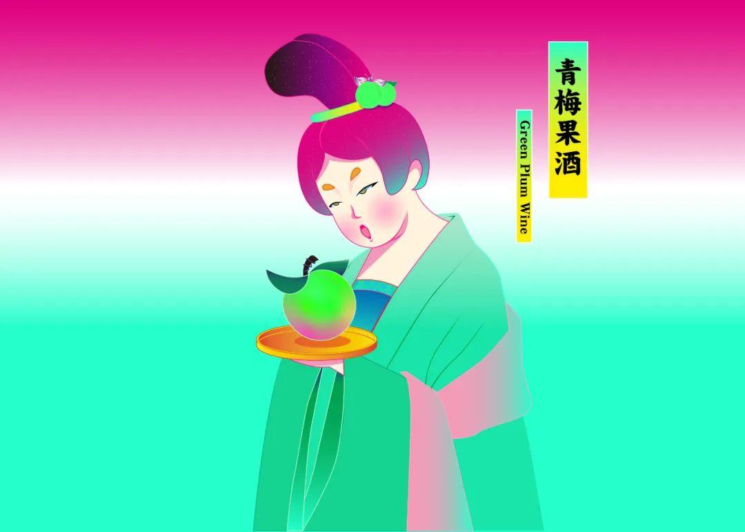 國潮風包裝設計水果唐妞系列IP人物_高瑞品牌_北京包裝設計公司