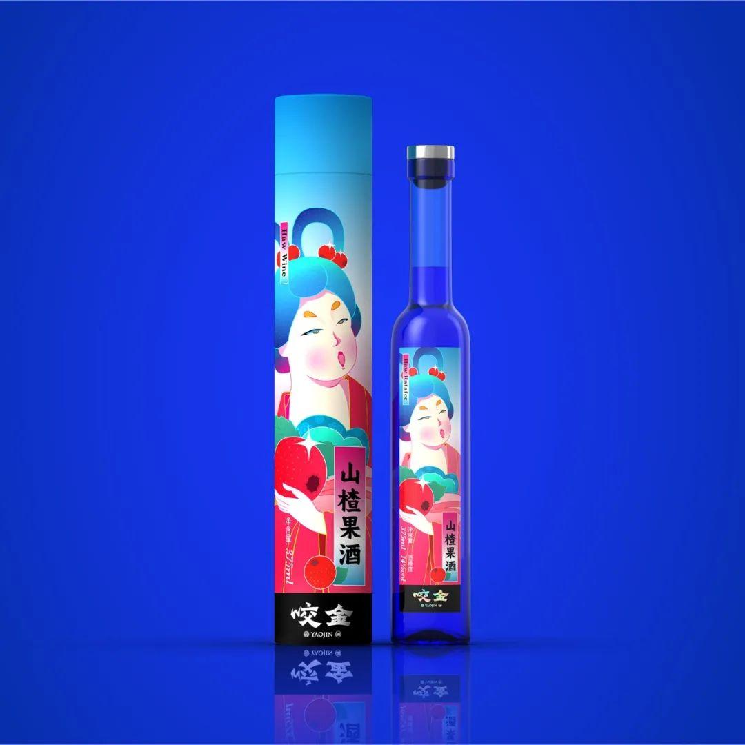 國潮風包裝設計水果唐妞系列產品包裝細節_高瑞品牌_北京包裝設計公司