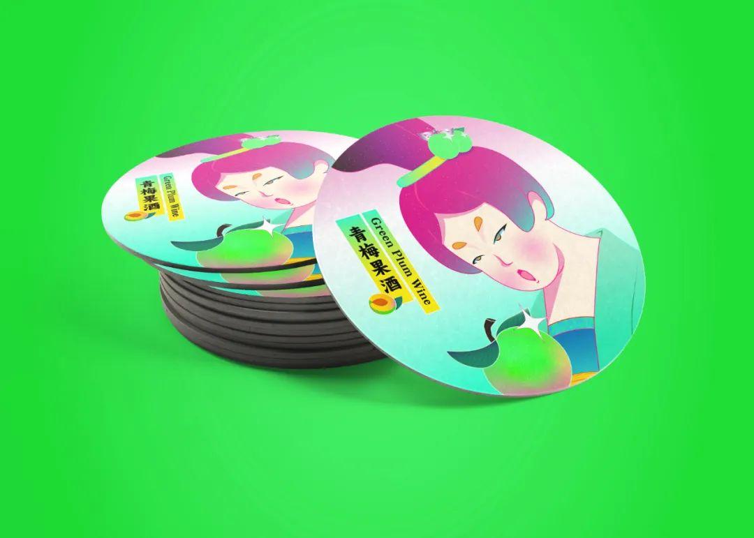 國潮風包裝設計水果唐妞系列_高瑞品牌_北京包裝設計公司