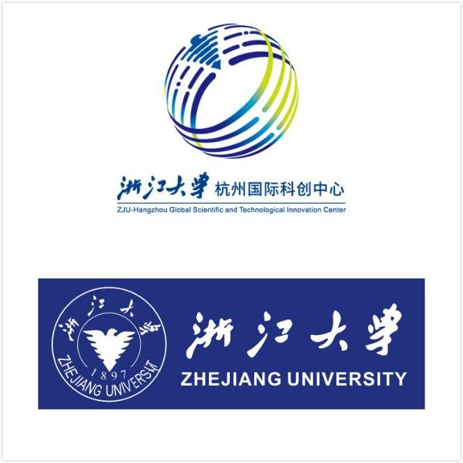 浙大杭州科創中心LOGO設計與浙江大學?;諏Ρ萠高瑞品牌