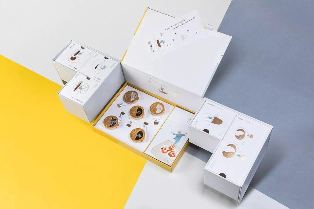 粽子礼盒包装设计细节展示_简约文艺风_高瑞品牌_北京包装设计