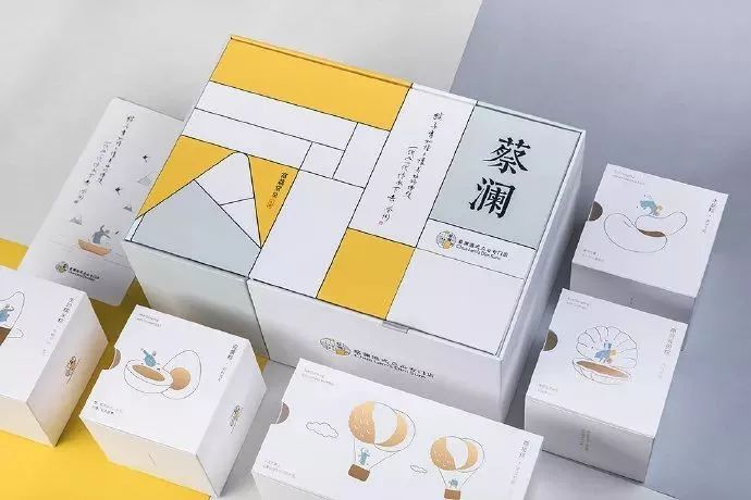 粽子礼盒包装设计_简约文艺风_高瑞品牌_北京包装设计